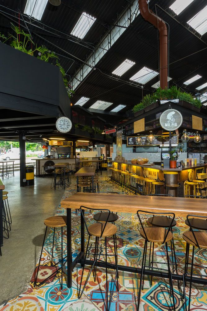 Gastronomic Market in the City of Medellin, Colombia, Designed by the Firm Morales Vicaria Arquitectura