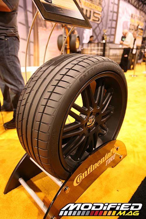 tire display | Sema Show 2008 Continental Tire Display Photo 12