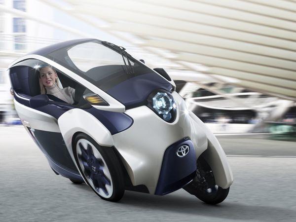 i-Road – Le véhicule électrique du futur by Toyota