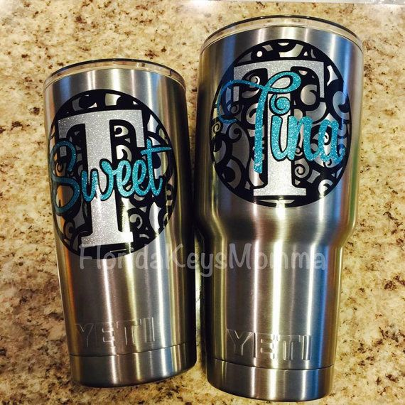 Unique Decals For Yeti Cups Ideas On Pinterest Vinyl Designs - Custom stickers for yeti cups