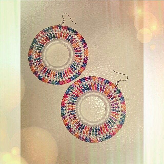 Earrings Crochet by lilly