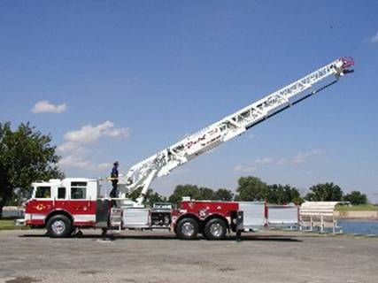 Carlsbad Fire Department - Pierce Ladder Fire Truck