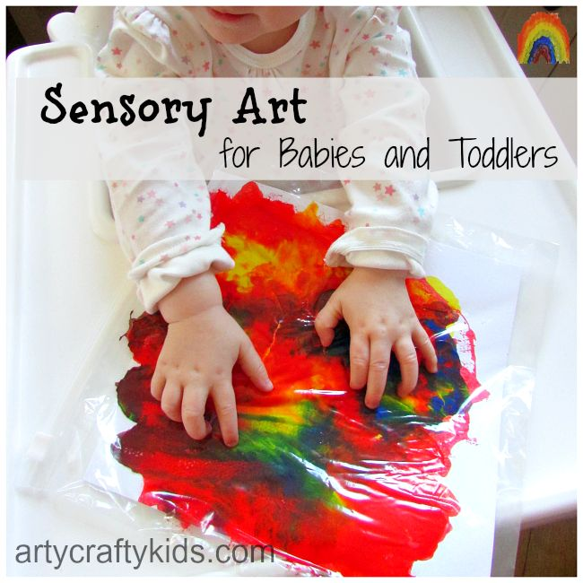 Arty Crafty Kids - Sensory art for babies and toddlers