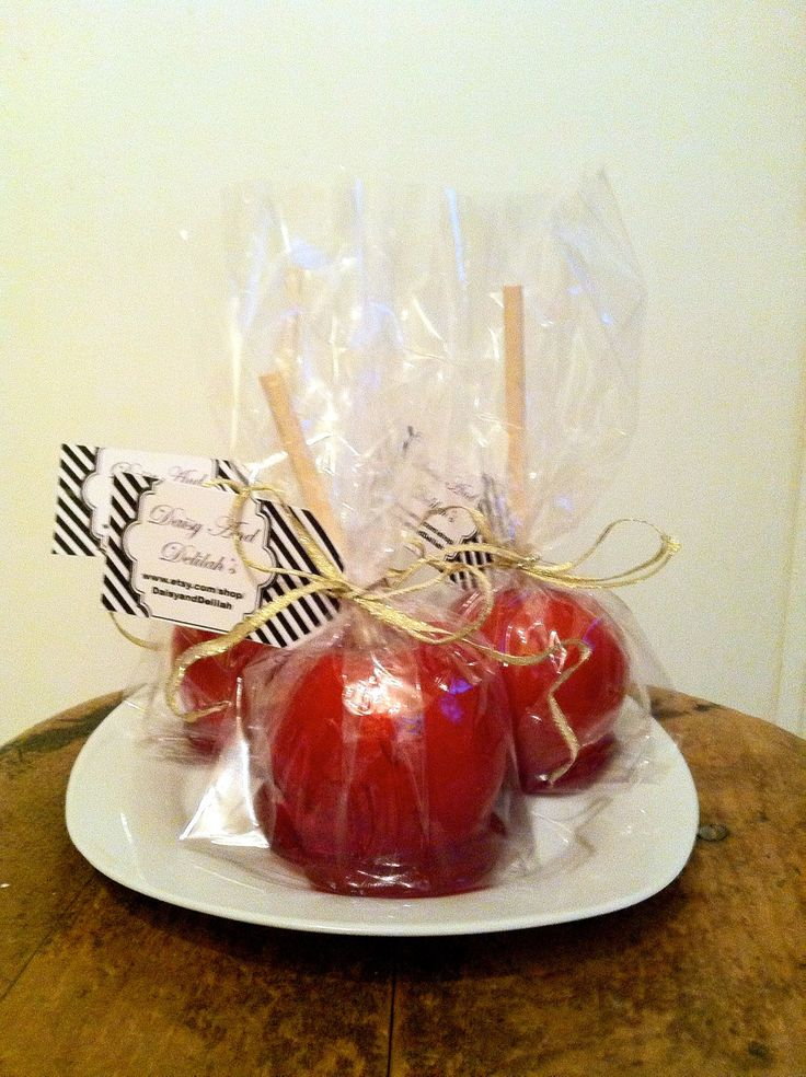 Candy Apple Wedding Favors
