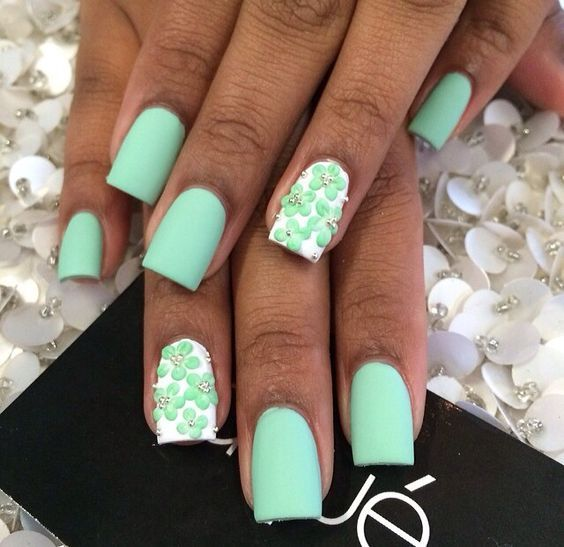 Are you looking for Short Square Almond Round Acrylic Nail Design For Fall and Summer? See our collection full of Short Square Almond Round Acrylic Nail Design For Fall and Summer and get inspired!