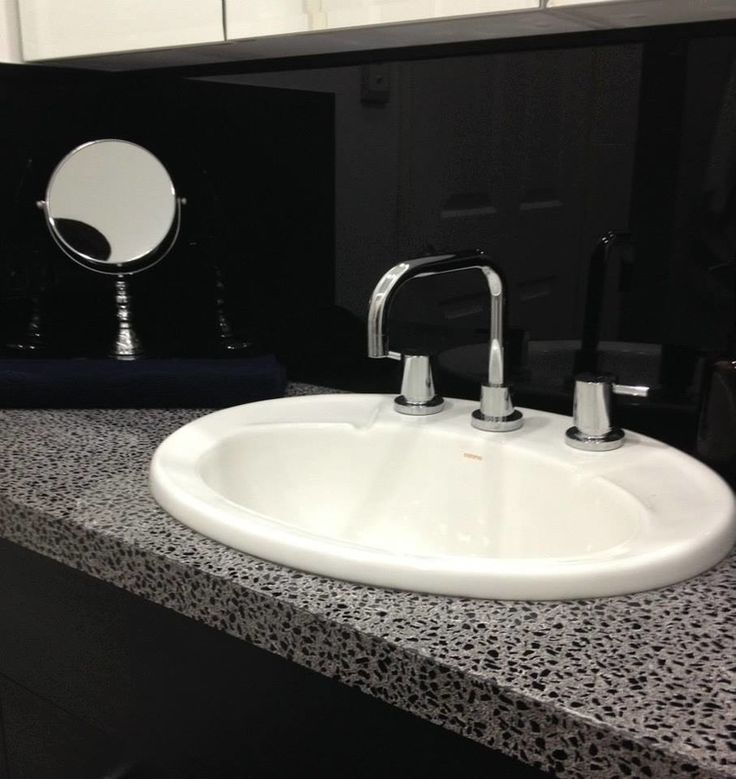 Up-cycled basin and vanity - allows the budget to stretch further. http://www.eyecandyinteriors.com.au/ensuite.html