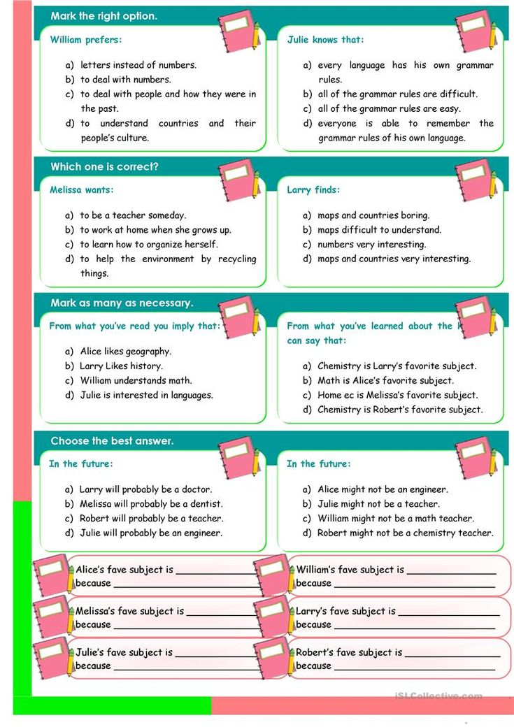26 best worksheep images on pinterest english grammar english school subjects reading comprehension convrsation 3 pages worksheet free esl printable fandeluxe Image collections