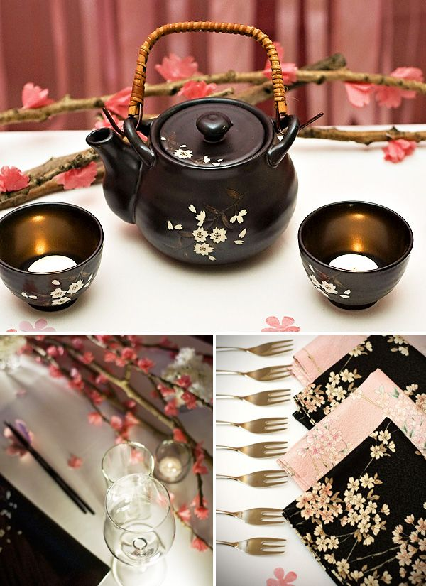 Love In Blossom Japanese Inspired Wedding