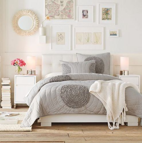Gray and Ivory Bedroom - Eclectic - Bedroom - Dallas - by Kyle Knight