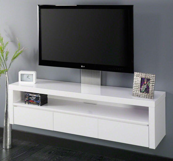 Die besten 25+ Tv möbel weiß hochglanz Ideen auf Pinterest Tv - wohnzimmermöbel weiß hochglanz
