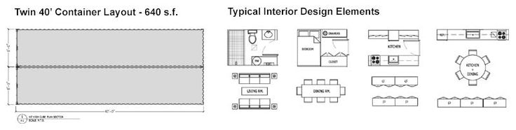 Shipping Container Home - RSCP - Floor Plan Image Example