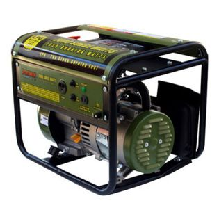 New Buffalo Corp. - Sportsman Series Propane 2000 Watt Generator - The Sportsman Propane 2000 Watt Portable Generator can power common household appliances and power tools. It is equipped with a single 120 volt outlet and a 12 volt DC outlet for battery charging. A generator of this size is ideal for small camping or tailgating parties or to have on hand in case you need some temporary power in an emergency situation.