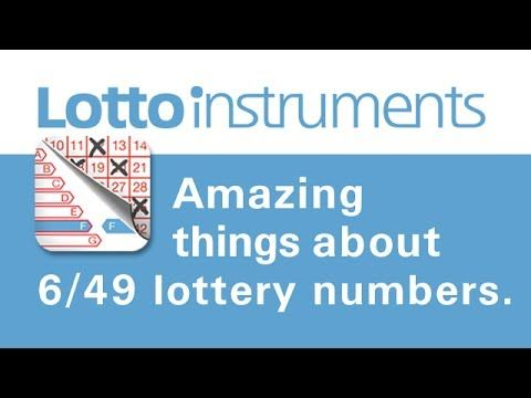 Amazing things about 6/49 lottery numbers! - http://LIFEWAYSVILLAGE.COM/lottery-lotto/amazing-things-about-649-lottery-numbers/