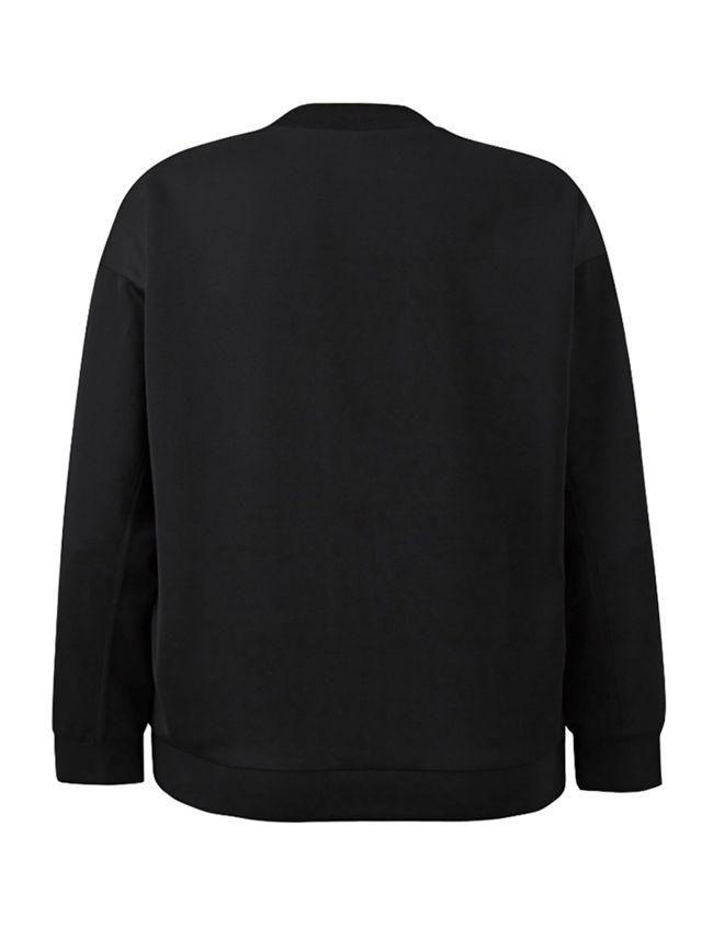 047bcba5 Casual New York City Crew Neck Plus Size Sweatshirt   Style ...