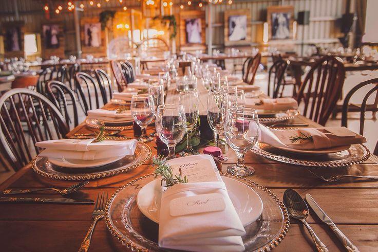 Set the scene with a dining experience that will leave everyone talking.... Raw Wood Tables + Bentwoods + Coconut Beaded Chandelier + Festoon Lighting = DEVINE Organic AWESOMENESS....   .::BorrowMyBits::.  Melissa Cooney Photography    #bentwoodchairs  #woodtrestles #chandelier #beautifulwedding #stunningwedding #uniquewedding #goldbeadedcharger #festoonbulb #mismatchedchairs #wedding #organicwedding #woodlandswedding #shedwedding #barnwedding #classywedding #queenslandwedding #cqwedding #cq