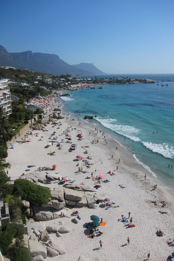 Clifton Beach, South Africa  Holding Court Blog  Image: Courtney Velasco