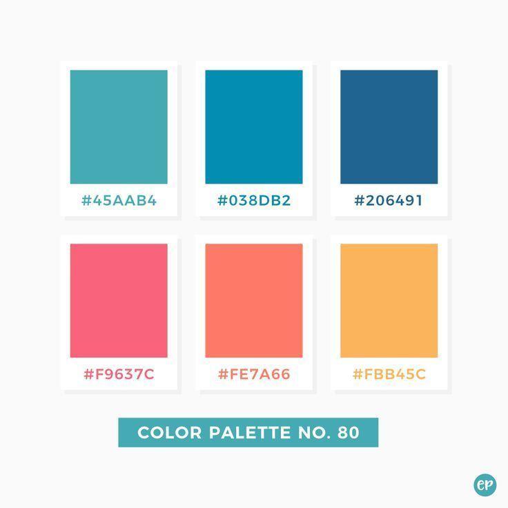 Color Palette No 80 Color Palette In 2020 Color Palette Pantone Colour Palettes Retro Color Palette