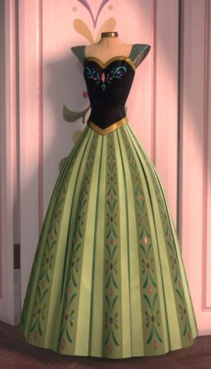 Anna's dress cosplay guide