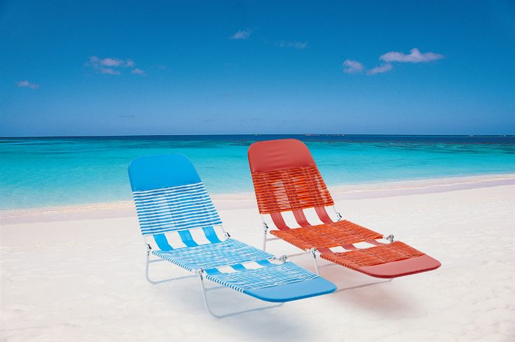 Mainstays folding jelly beach lounge chair