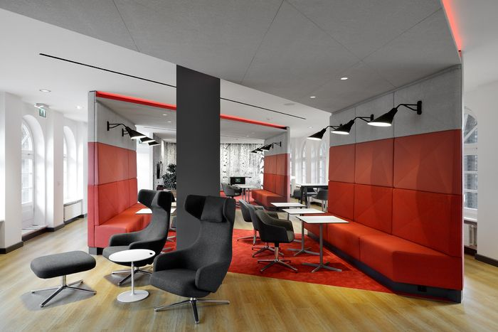 business consultancy offices hamburg by seel bobsin partner workplace interiors pinterest. Black Bedroom Furniture Sets. Home Design Ideas