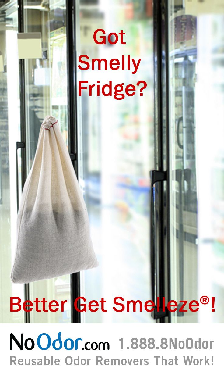 how to clean a freezer that smells