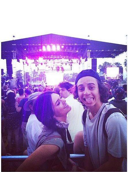 Kendall Jenner and Moises Arias