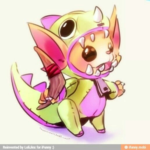 Dino gnar league of legends