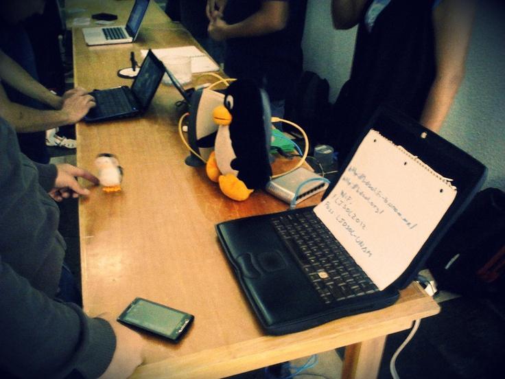 Foto No.4 #PizzaHub 01 (28/04/2012) en Facultad de Ingeniería, UNAM