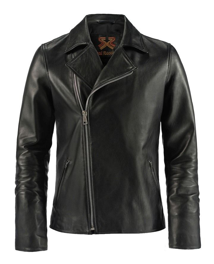 "Ghost Rider - This high quality Italian leather jacket is a replica from Nicolas Cage's role in the movie Ghost Rider. A classic style biker jacket constructed in softer Italian leather. ""He may have my soul but he doesn't have my spirit.""… or my jacket."