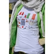 T-shirt donna Italy