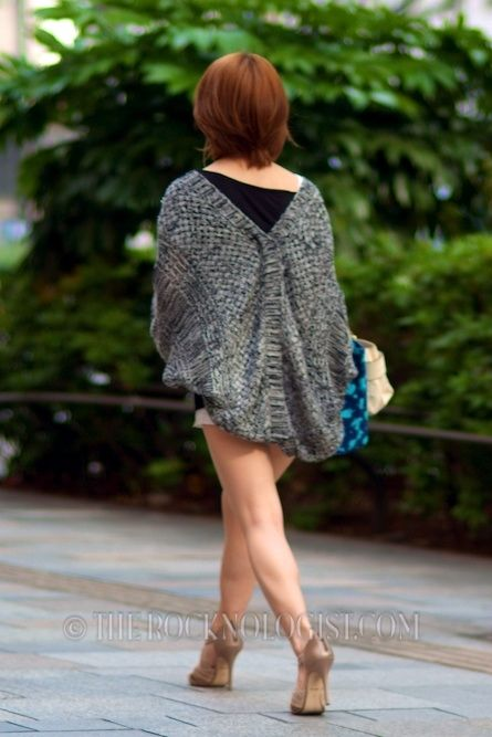 Liking the Loose Sweater Style...