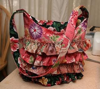 Ruffle Bag Tutorial