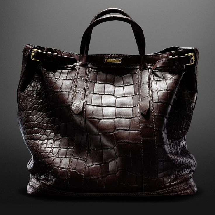 COACH + BILLY REID Warrior tote in Gator - only $20K - so delicious