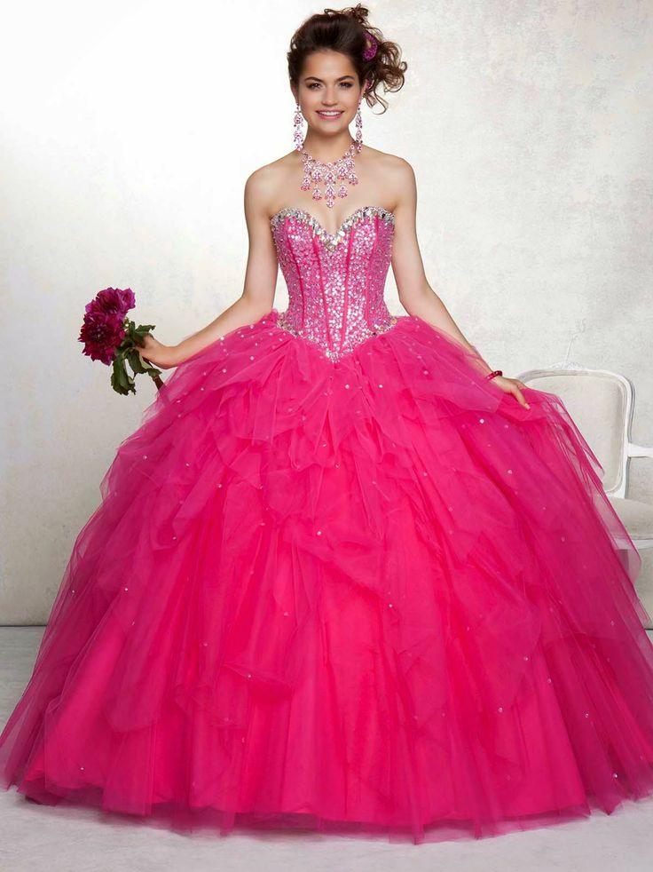 166 best Vestidos para mis 15 images on Pinterest | Ballroom dress ...