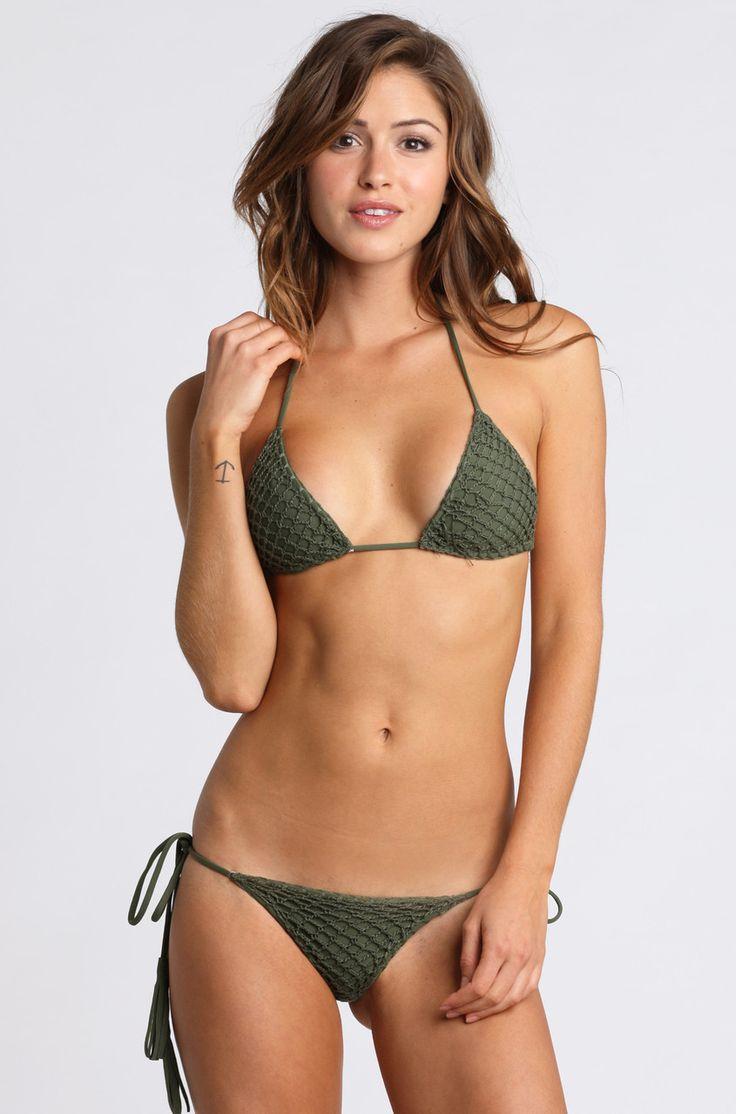 Teen Paris In Green Bikini 116