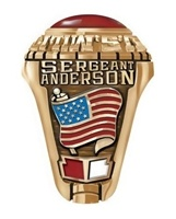 Army Rings to commemorate the years spent in the service of the nation. Army rings can be designed to record achievements and milestones in a soldiers career. These loyal and brave men and women of the United States #Army spend their service time fighting for our freedom and making great sacrifices so that we can get on with our lives in peace and harmony.
