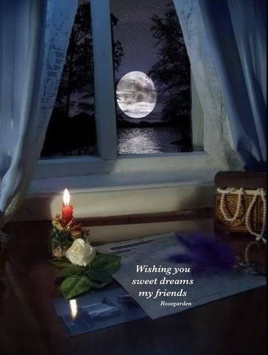 Night is the best time for peace, wonder on things, to appreciate life, to plan your tomorrow, and give thanks to The Creator for all the blessings today! Sweet dreams my friends. Many blessings, Cherokee Billie