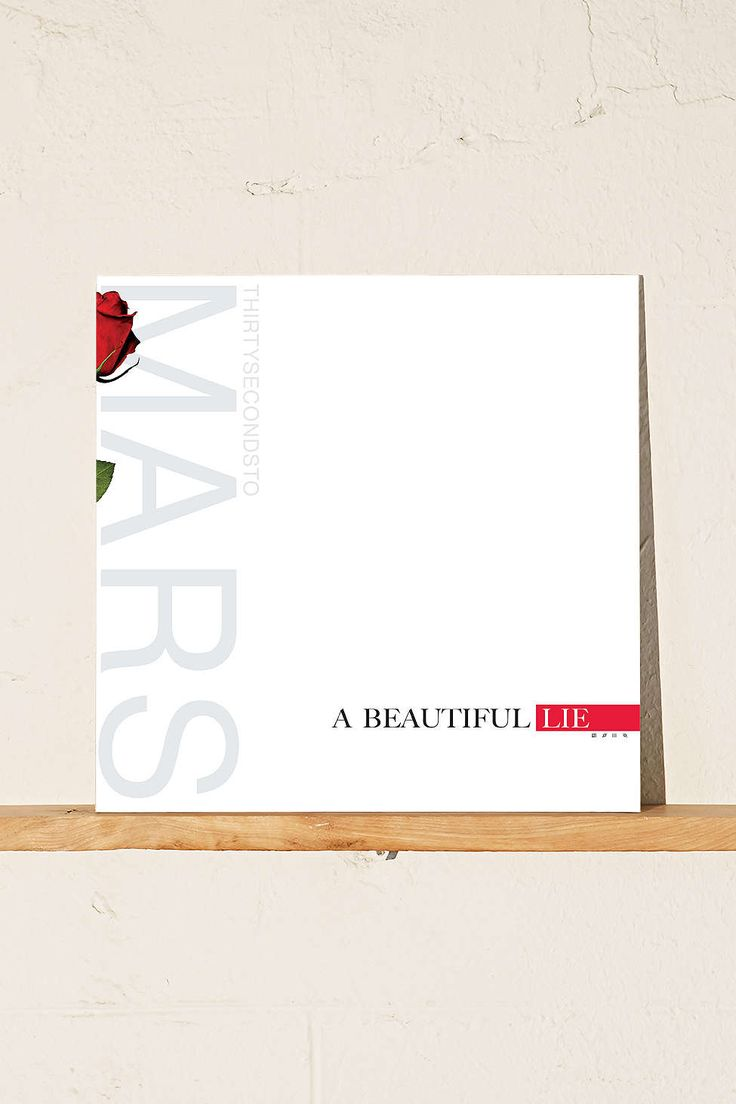 30 Seconds To Mars - A Beautiful Lie LP