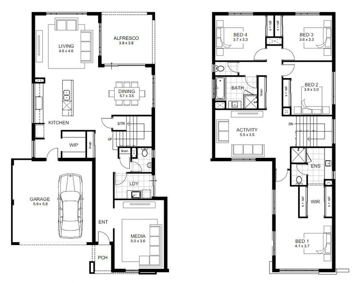 Double Storey Breakthrough Range Perth Apg Homes In 2019