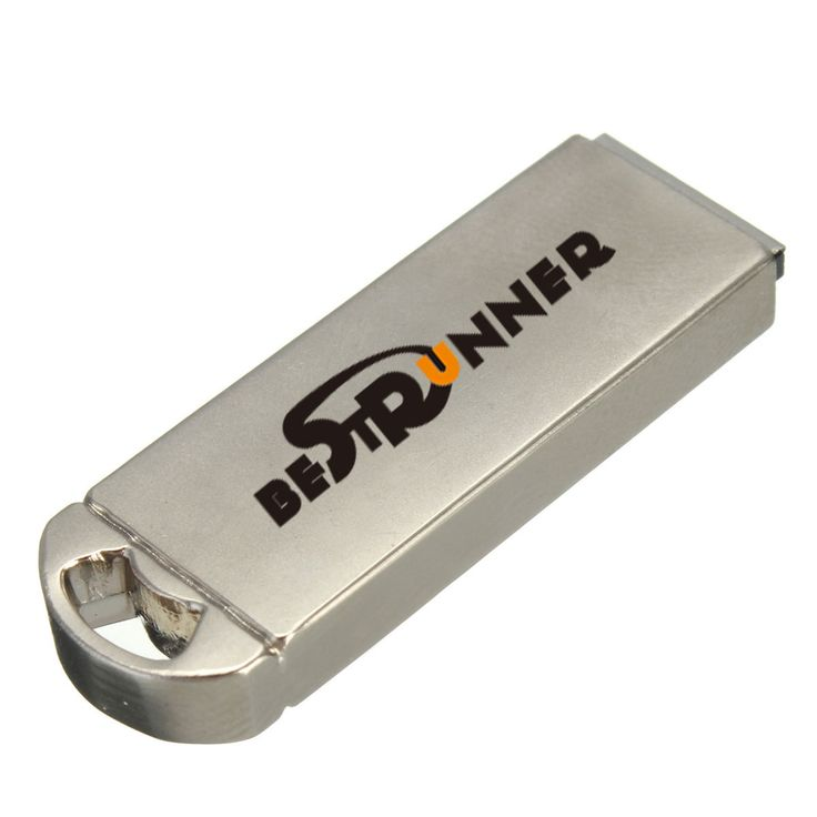 Bestrunner usb 16gb 2.0 stick disco flash drive de memoria u metálica
