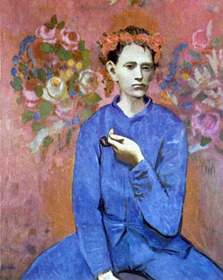 Pin by marele metho on you 39 re as young as your faith pinterest - La chambre bleue picasso ...