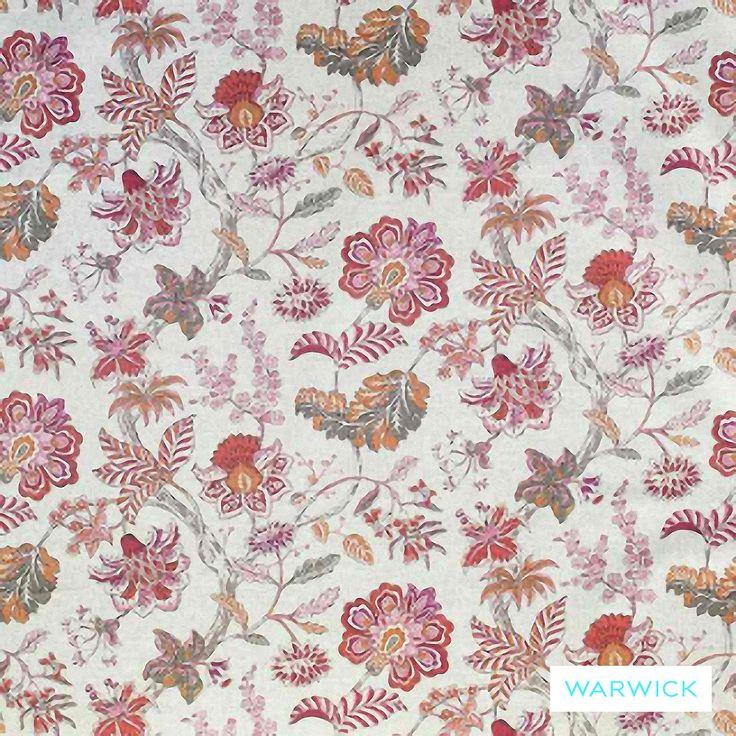 Warwick Cornucopia Brackley Flamingo | Ideal Drape Makers
