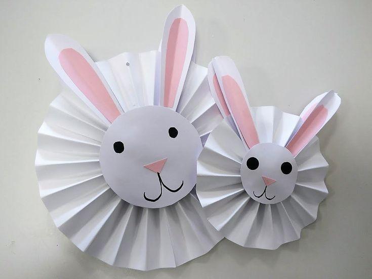 Lavoretti di pasqua per bambini un coniglio addobbo di for Oggetti da appendere