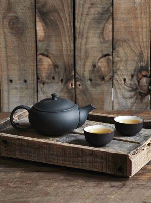 Azmaya Japanese Copper & Ceramic Teapots • Selectism