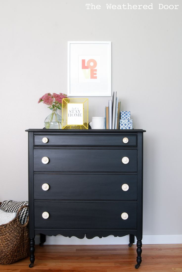 Painting furniture black ideas - Find This Pin And More On Black Painted Furniture