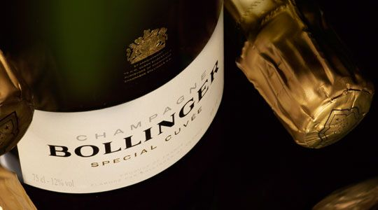 Achat champagne Bollinger au meilleur prix