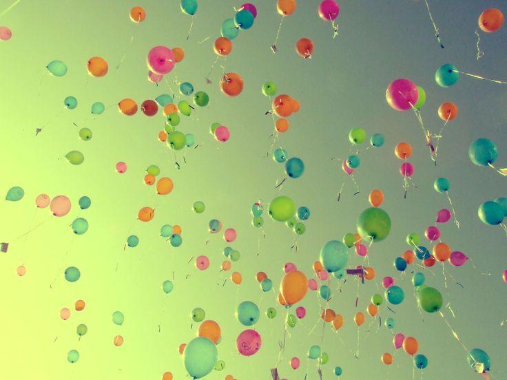 Over ballonnen en het vinden van geluk