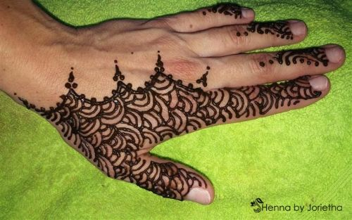 Henna By Jorietha  Henna designs for men and women on hands, feet, wrist, arm, neck, back, chest, bellies, crowns etc     Facebook: www.facebook.com/hennabyjorietha  Twitter: @hennabyjorietha  Website: www.jorietha.com  E-mail:henna@jorietha.com     Services available for:     Individual Appointments  Corporate Events  Birthday Parties  Baby Showers  Pregnant Bellies  Weddings  Bachelorette Parties  Henna Crowns  Special Occasions  Festivals  Matric Dance