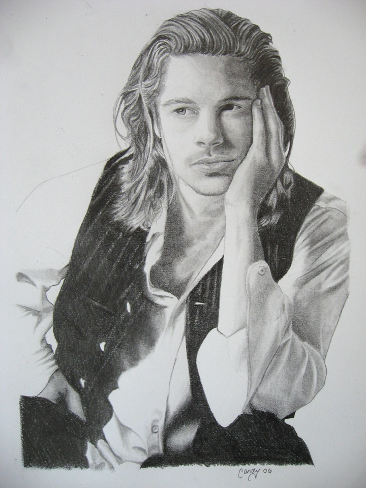 Brad Pitt (Legends of the Fall) Artwork by captaincaliena: Movie