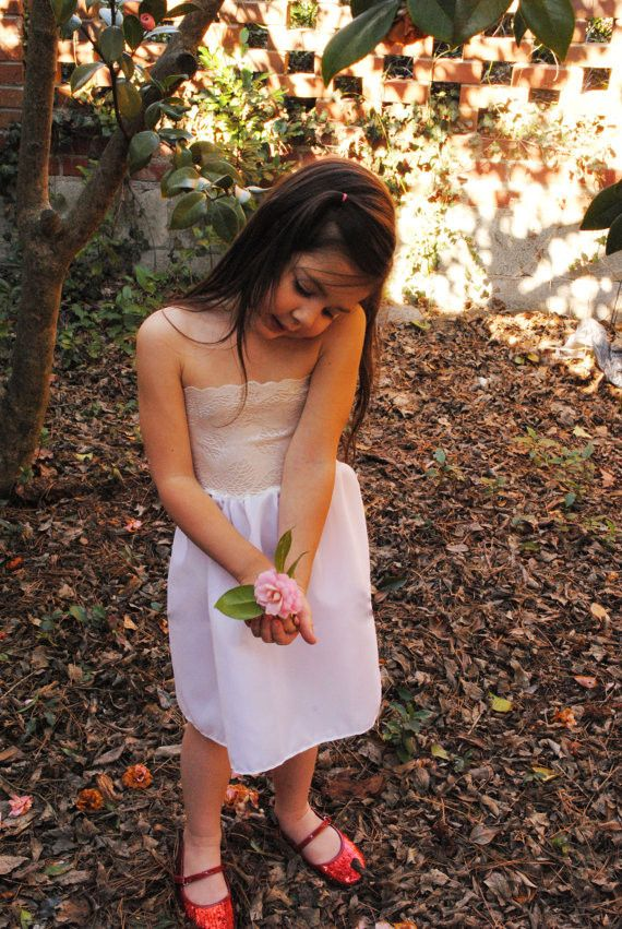 Flower Girl Slips